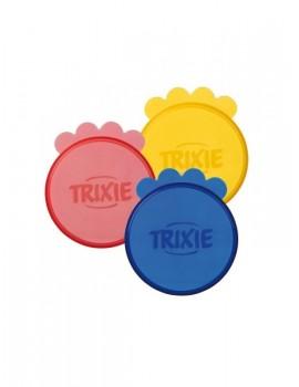 TRIXIE Tapas Botes Comida 7 cm 3 unidades