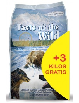 TASTE OF THE WILD Pacific Stream 15 kg con Salmón