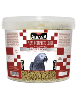 ALBANA Comida Loros alta energia 2,5 kg