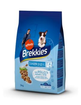 BREKKIES Junior con Pollo, Verduras y Cereales 3Kg