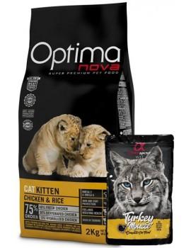 OPTIMA NOVA CAT KITTEN 2 KILOS