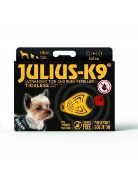 JULIUS -K9 Repelente Ultrasónico de Garrapatas y Pulgas Amarillo