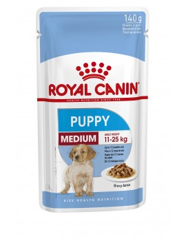 ROYAL CANIN Pouch Medium Puppy 140g