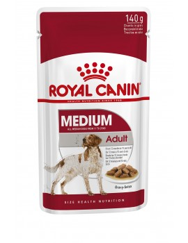 ROYAL CANIN Pouch Medium Adult 140g