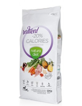 NATURA DIET -20 Reduced Calories 12 Kg Pavo y Arroz Integral