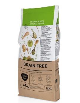 NATURA DIET Grain Free Pollo Cordero y Vegetales 3 Kg sin cereales