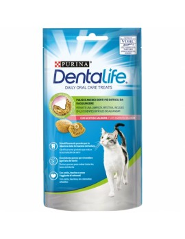 PURINA Dentalife Gato Salmón 8x40g
