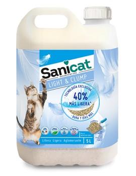SANICAT Light & Clump 5 litros