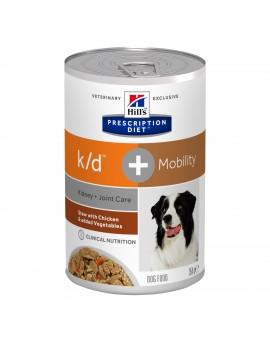 HILLS Canine k/d + Mobility Estofado Pollo 354g