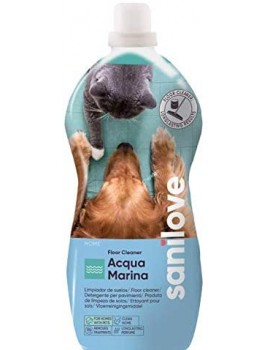 SANILOVE Fregasuelos Acqua Marina 1,5 litros