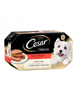 CÉSAR Pack 4 Clásicos 8x150g