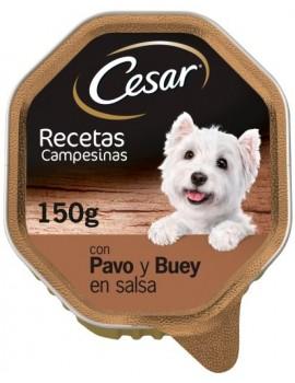Cesar Tarrina Recetas Campesinas Pavo y Buey 150g