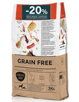 NATURA DIET Grain Free Baby Cachorros 3 Kg sin cereales