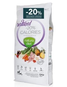 NATURA DIET -20 Reduced Calories 12 Kg Pavo y Arroz Integral 20% descuento 2ª unidad