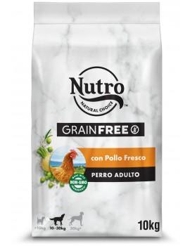 NUTRO Adulto Grain Free Con Pollo Fresco 10kg