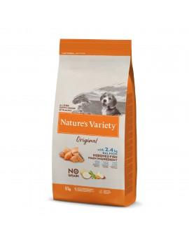 NATURE´S VARIETY Original No Grain Junior Salmon 12Kg