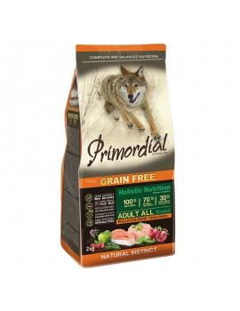 PRIMORDIAL Grain Free Pienso Perro Adulto Pollo y Salmón 12 Kg