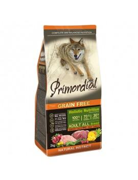 PRIMORDIAL Grain Free Pienso Perro Adulto Ciervo y Pavo 12 kg