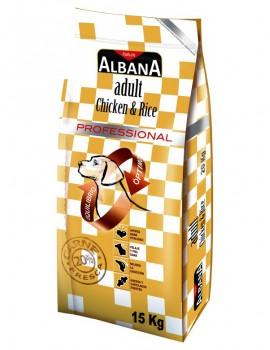 ALBANA ADULTO POLLO Y ARROZ 20 KILOS