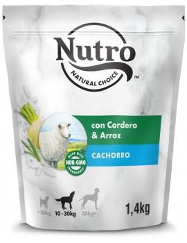 NUTRO Cachorro Cordero y Arroz 1,4Kg