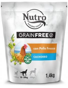 NUTRO Cachorro Grain Free Pollo 1,4Kg