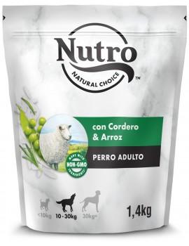 NUTRO Adulto Cordero y Arroz 10kg