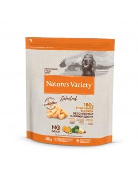 NATURE´S VARIETY Selected Medium/Maxi Adult Pollo 2kg