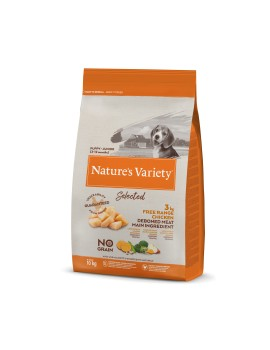 NATURE´S VARIETY Selected Junior Pollo Campero 10Kg
