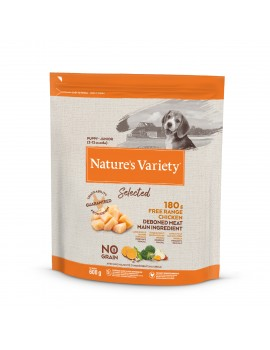 NATURE´S VARIETY Selected Junior Pollo Campero 600g