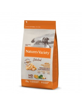 NATURE´S VARIETY Selected Mini Adult Pollo 1,5Kg
