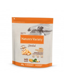 NATURE´S VARIETY Selected Mini Adult Pollo 600g