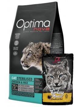 TIENDA ANIMALIA OPTIMA NOVA GATO ADULT STERILISED
