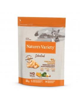 NATURE'S VARIETY Kitten Selected Pollo 300g