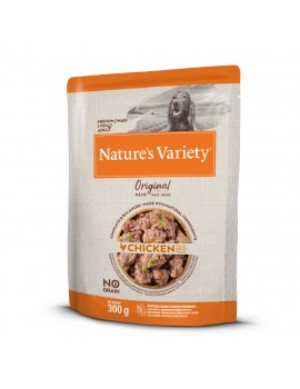 NATURE´S VARIETY Original No Grain Paté Medium/Maxi Pollo 300g
