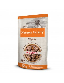 NATURE´S VARIETY Original No Grain Paté Mini Buey 150g