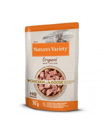 NATURE´S VARIETY Original No Grain Paté Pollo con Ganso 70g