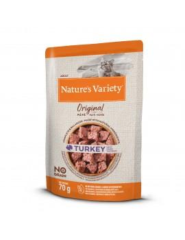 NATURE´S VARIETY Original No Grain Paté Pavo 70g