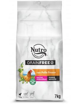 NUTRO Adulto Grain Free Razas Pequeñas Pollo 7Kg