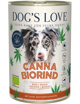 DOG´S LOVE Canna Canis BIO Vacuno Cáñamo 400g