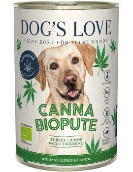 DOG´S LOVE Canna Canis BIO Pavo Cáñamo 400g