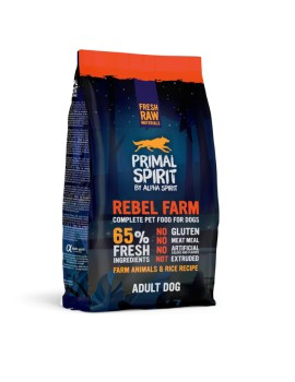 PRIMAL SPIRIT Rebel Farm 12 kilos Pienso para Perros by Alpha Spirit