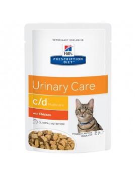 HILLS Feline c/d 85g Urinary con Pollo