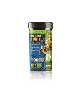 EXOTERRA ALIMENTO TORTUGA ACUATICA Hatching 105 Gr