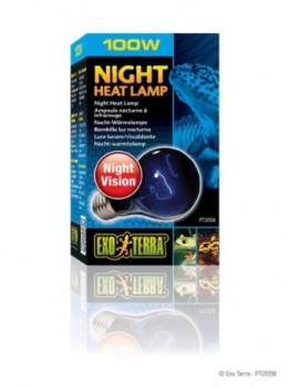 EXO TERRA NIGHT GLO LÁMPARA INCANDESCENTE 100 W
