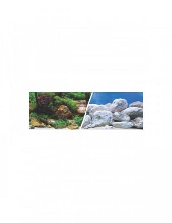 MARINA 3D Jardin Acuatico/Piedras 47.5cm X 7.6M