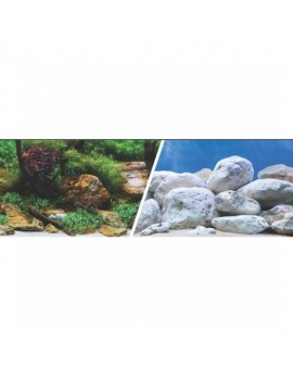 MARINA 3D Jardin Acuatico/Piedras 61cm X 7.6M