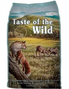 TASTE OF THE WILD Apallachian valley 5,6 kg con venado