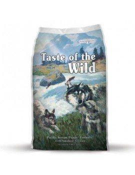 TASTE OF THE WILD Puppy Pacific Stream 12,2 kg con Salmón