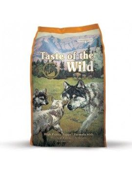 TASTE OF THE WILD Puppy High Praire 12,2 kg con Bisonte