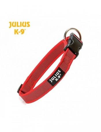 JULIUS Collar Engomado Rojo 2cm ancho